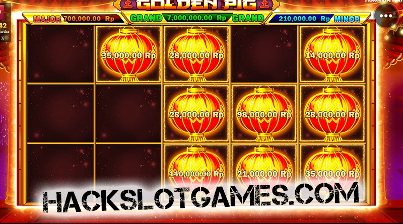 Cheat Slot Pragmatic di Golden PIG 100% AMPUH