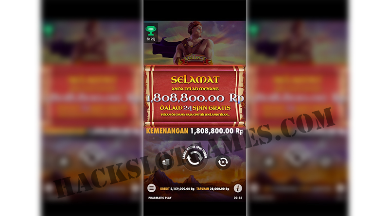 Cheat Hack Game slot Pragmatic 100% WILD muncul terus !!